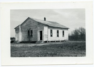 Thumbnail of Segregated school for African American children in Benton or Tippah County,             Miss.