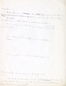Thumbnail of Letter fragment from Cynthia Miller to the women's movement