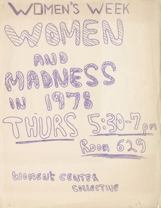 Thumbnail of Women's week Women and madness in 1978