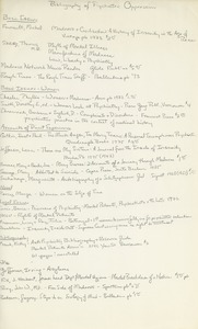 Thumbnail of Bibliography of psychiatric oppression
