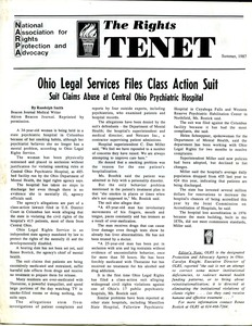 Thumbnail of The  Rights Tenet 1987 Summer