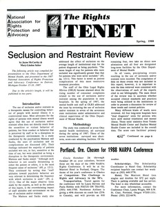 Thumbnail of The  Rights Tenet 1988 Spring