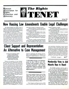 Thumbnail of The  Rights Tenet 1989 Spring
