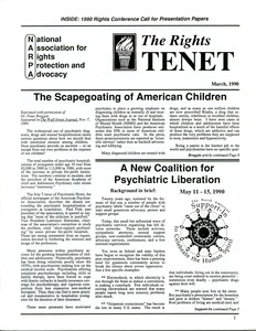 Thumbnail of The  Rights Tenet 1990 Mar.