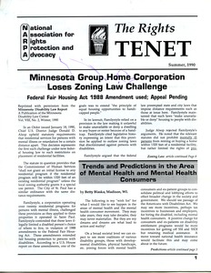 Thumbnail of The  Rights Tenet 1990 Summer