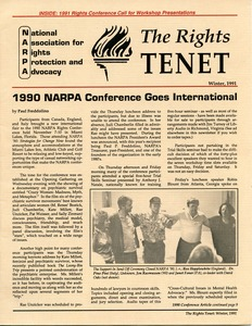 Thumbnail of The  Rights Tenet 1991 Winter