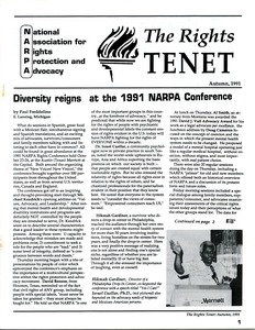 Thumbnail of The  Rights Tenet 1991 Autumn