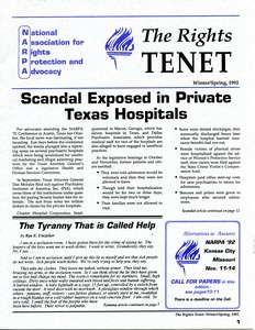 Thumbnail of The  Rights Tenet 1992 Winter/Spring