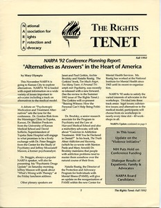 Thumbnail of The  Rights Tenet 1992 Fall