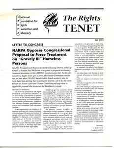 Thumbnail of The  Rights Tenet 1995 Fall