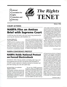 Thumbnail of The  Rights Tenet 1996 Winter