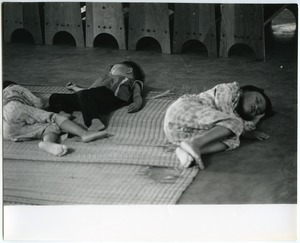 Thumbnail of Children sleeping at day care center