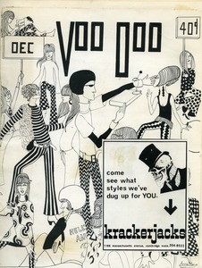 Thumbnail of Cover of Voo Doo magazine with pasted Krackerjacks ad