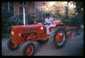 Thumbnail of New International Harvester B-275 tractor at Gordon Hall House