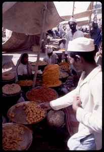Thumbnail of Food being sold in an open air market