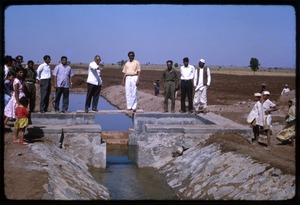 Thumbnail of New sluice gate for irrigation system
