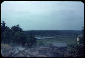 Thumbnail of View of Duxbury Cranberry Company Bog #2 and Sam's house