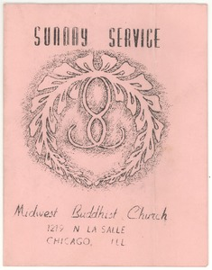 Thumbnail of Midwest Buddhist Church program