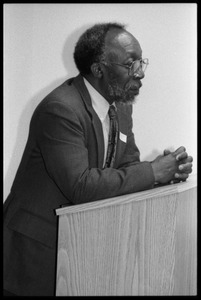 Thumbnail of John A. Williams at the lectern