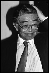 Thumbnail of Hui-Ming Wang: informal portrait, at the book party for Robert H. Abel