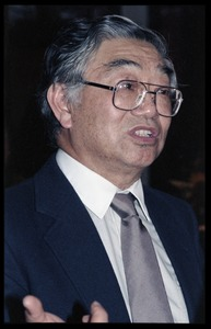 Thumbnail of Hui-Ming Wang at the book party for Robert H. Abel