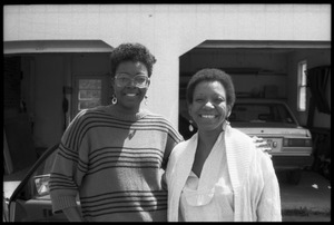 Thumbnail of Irma McClaurin (left) and Cuban writer Nancy Morejón