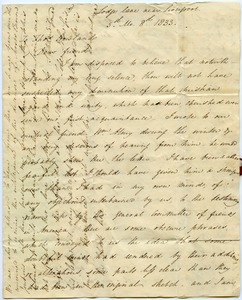 Thumbnail of Letter from Anna Braithwaite to Thomas Howland