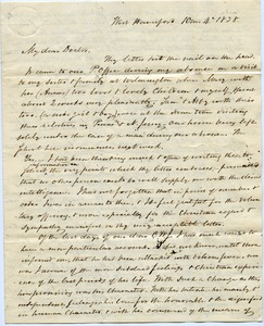 Thumbnail of Letter from John Griscom to Samuel Boyd Tobey