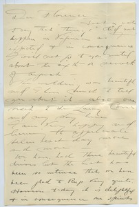 Thumbnail of Letter from Elizabeth Williston to Florence Porter Lyman