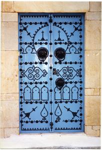 Doorway detail, Sid Bou Said