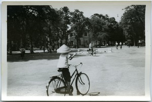 Thumbnail of Cyclists near Hoan Kiem Lake