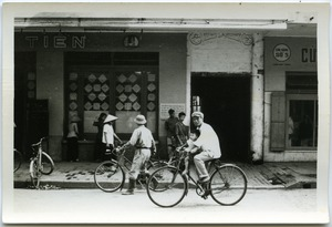 Thumbnail of Father and son cycling in Old Quarter