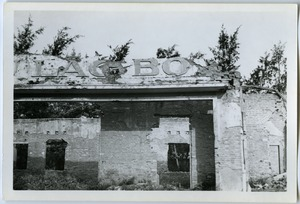 Thumbnail of Bombed-out shop, Thái Bình City