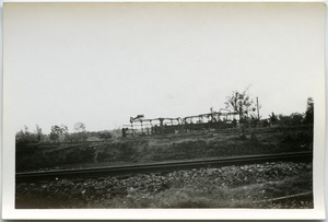 Thumbnail of Demolished rail line and train car, Thái Bình City
