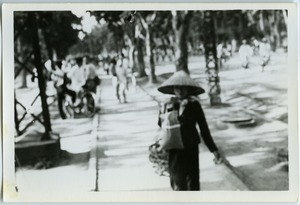 Thumbnail of Pedestrian, French Quarter,  Hanoi