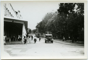 Thumbnail of Street scene, French Quarter, Hanoi