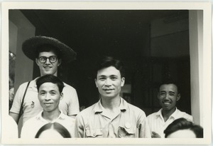 Thumbnail of David Tobis and drivers in Thái Bình province