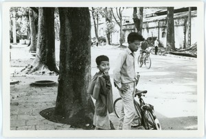 Thumbnail of Brothers on street in French Quarter