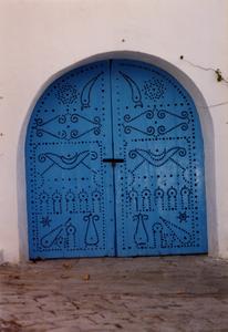 Blue door, Sidi Bou Said