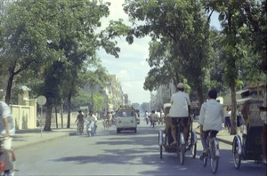 Thumbnail of Street scene of road busy with traffic