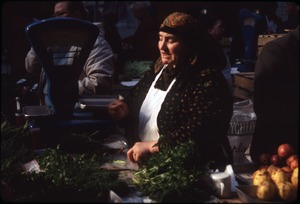 Thumbnail of Women selling greens and produce