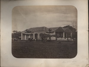 Thumbnail of Horse R.R. Station, Batavia, Java
