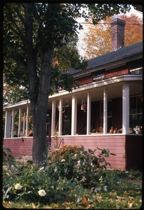 Thumbnail of Front porch of the house at Montague Farm Commune