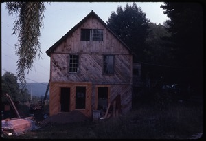 Thumbnail of House under construction at Wendell Farm Commune