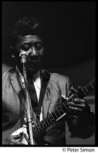 Thumbnail of Muddy Waters performing at the Newport Folk Festival