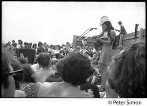 Thumbnail of Buffy Sainte-Marie performing at the Newport Folk Festival