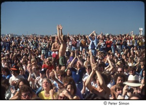 Thumbnail of MUSE concert and rally: crowd gathered at No Nukes rally