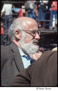 Thumbnail of MUSE concert and rally: John Gofman at the No Nukes rally