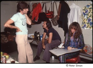 Thumbnail of MUSE concert and rally: Bill Graham backstage at the MUSE concert