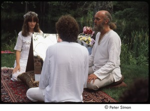 Thumbnail of Peter and Ronni Simon wedding: Ram Dass officiating